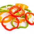 Slice Bell Pepper — Stock Photo #5777096