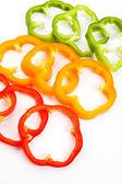 Slice-paprika — Stockfoto