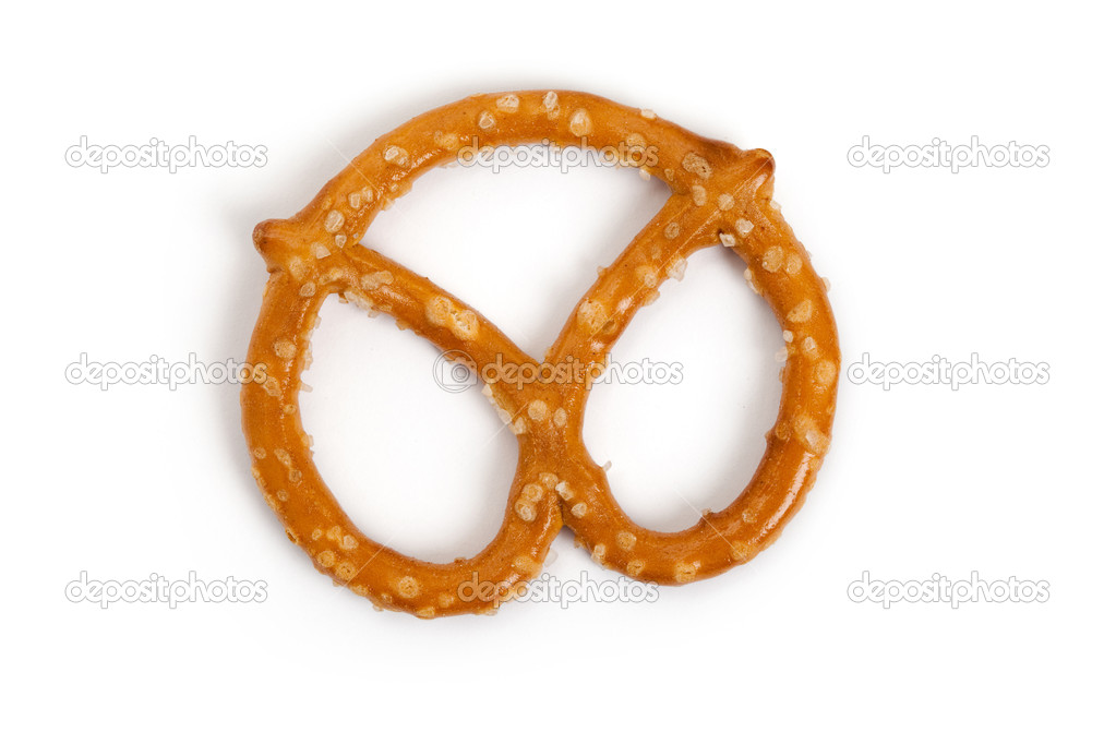 Pretzel close up shot — Stock Photo #5776723