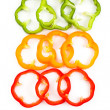 Slice Bell Pepper — Stock Photo
