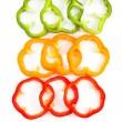 Slice Bell Pepper — Stock Photo #5887290