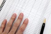 Business Document — Stock Photo