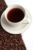 Kávové zrno — Stock fotografie