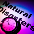 Natural Disasters — 图库照片