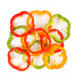 Slice Bell Pepper — Stock Photo #5923720