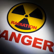 Radiation hazard sign — Stockfoto #5952778