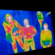 Stock Photo: Thermal Image