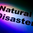 Natural Disasters — Stock Photo #6036470