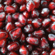 Pomegranate seeds. - Foto de Stock