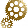 Gear set. - Stock Vector