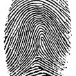 Finger print. — Stockvectorbeeld