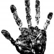 Royalty-Free Stock Векторное изображение: Hand print.