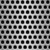 Perforated metal plate. — Vettoriale Stock