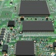Microcircuit board. - Stock Photo