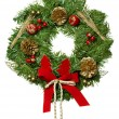Christmas garland. - Stock Photo