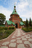 Small orthodox church. — Stock Photo
