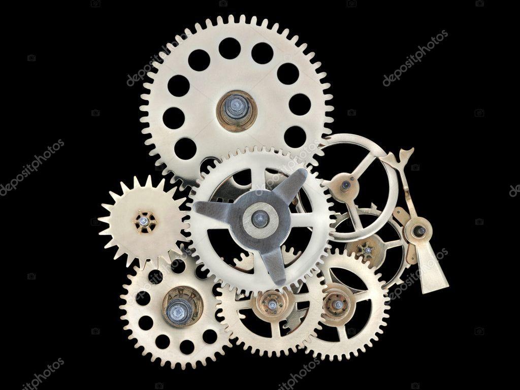 clock works � stock photo 5796071
