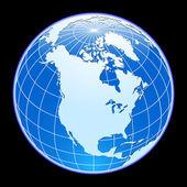 Vector globe. — Stock Vector