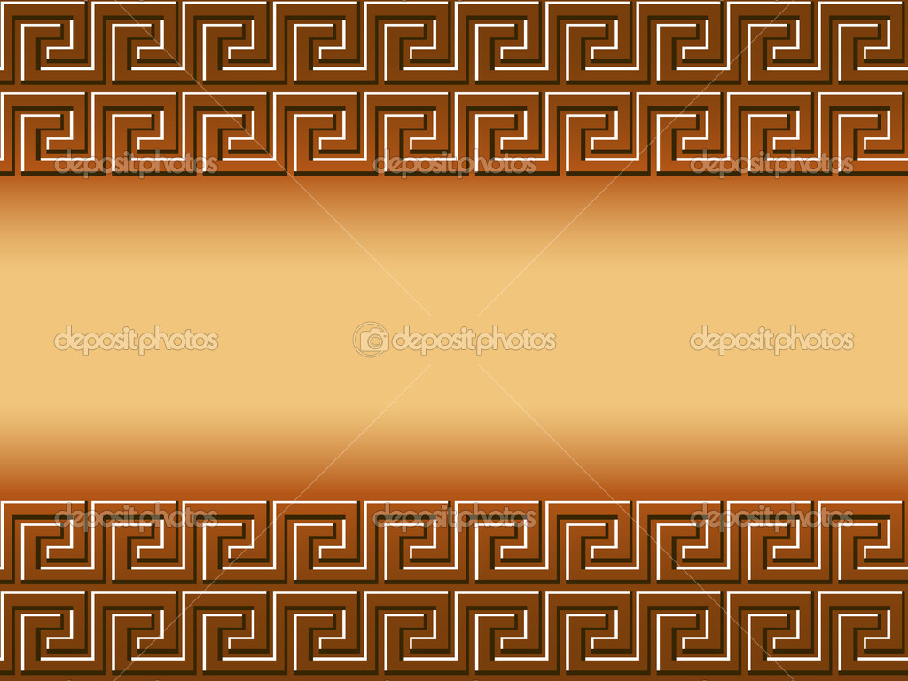 Ancient Greek Mythology Background Vector background of greek