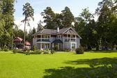 Suburban house. — Stock Photo