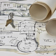 Blueprint of house — Stock Photo #5749809