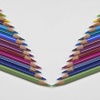 Coloured pencil — Stock Photo #5872839