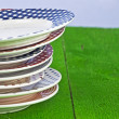 Colorful plate - Stock Photo