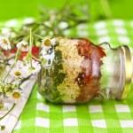 Pesto Tricolore — Stock Photo