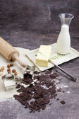 Dough for biscuits — Stock Photo