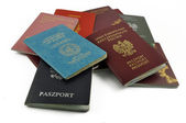 Other travel documents isolated — Stock Photo