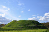 Monte verde, colina — Fotografia Stock