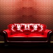 A sofa in the interoir — Stock Photo