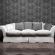 Royalty-Free Stock Photo: Modern interior design with a nice gray sofa