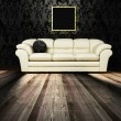 Royalty-Free Stock Photo: Interior design scene with a  sofa