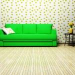 Modern interior design of living room — Stock Photo #5747988