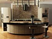 A modern kitchen — Stock Photo