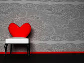 A romantic interior — Stock Photo