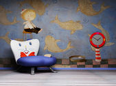 Children's Interior — Stock Photo