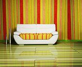Modern design of living room — Stock Photo