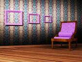 Escena de diseño de interiores — Foto de Stock