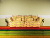 Design de interiores luminoso — Fotografia Stock