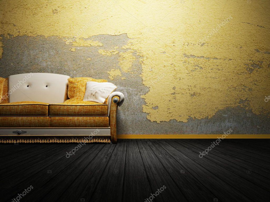 Moderne interieur van woonkamer — Stockfoto © minerva86 #5747732