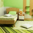 A nice green room for children — Stock Photo #5755469