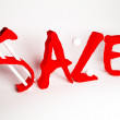 Foto de Stock  : Information about sale