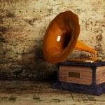Beautiful old gramophone — Stock Photo #6316218