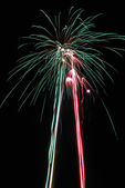 Fireworks 3 — Stock Photo