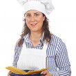 Attractive cook woman — Stock Photo #5880567