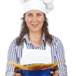 Attractive cook woman — Stock Photo #5880568