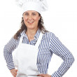 Attractive cook woman — Stock Photo #5880580