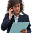 Business woman call — Stock Photo #5880605